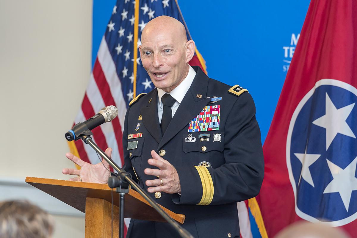 Photo of MTSU vets' leader to deliver May 28 Nashville Memorial address