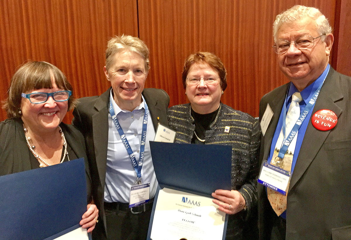 Photo of MTSU Science Educator, Leader Lands National, International Recognitions