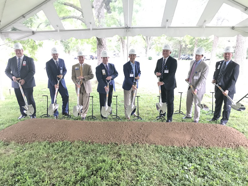 Photo of Groundbreaking for TrustPoint Hospital Expansion