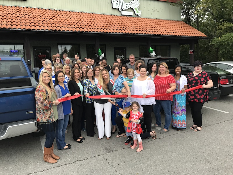 Photo of Ribbon Cutting for Feltz Therapy Services