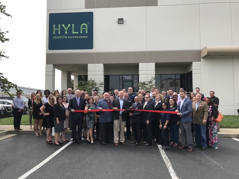 Photo of Ribbon Cutting for HYLA Mobile
