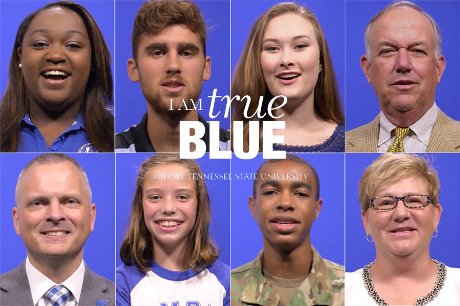 Photo of MTSU's Diverse Campus Reflected in Newest 'True Blue Pledge' Video