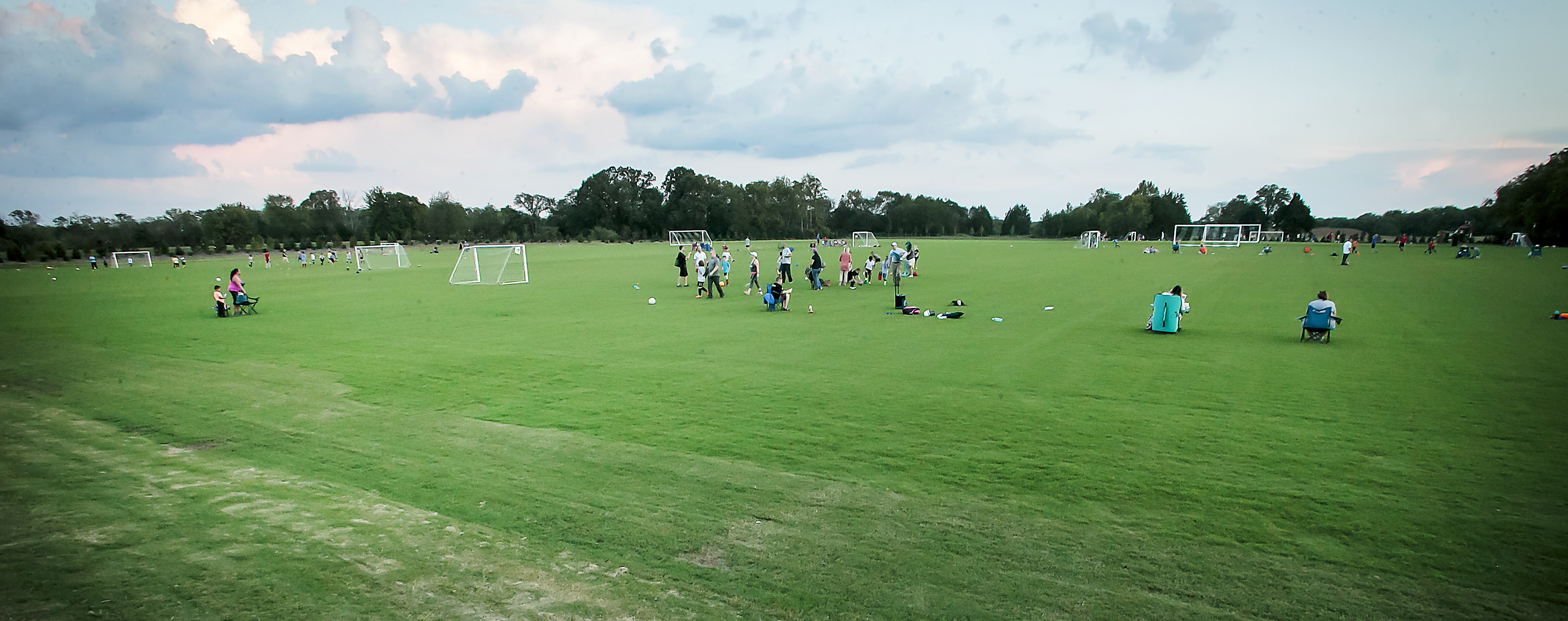 Photo of New Richard Siegel Soccer Practice Fields Open for Practice Play