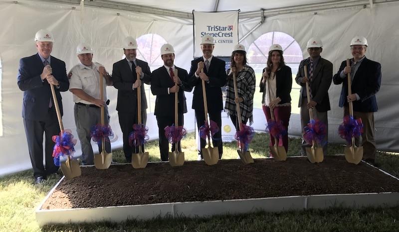 Photo of Groundbreaking for TriStar StoneCrest Medical Center ER Expansion