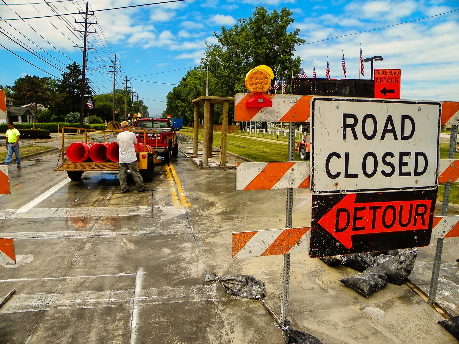 Photo of City Construction Projects for October 29 through November 4