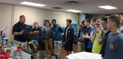 Photo of Nearly 300 RCS Students Tour Various Industry Sites Through Chamber Partnership