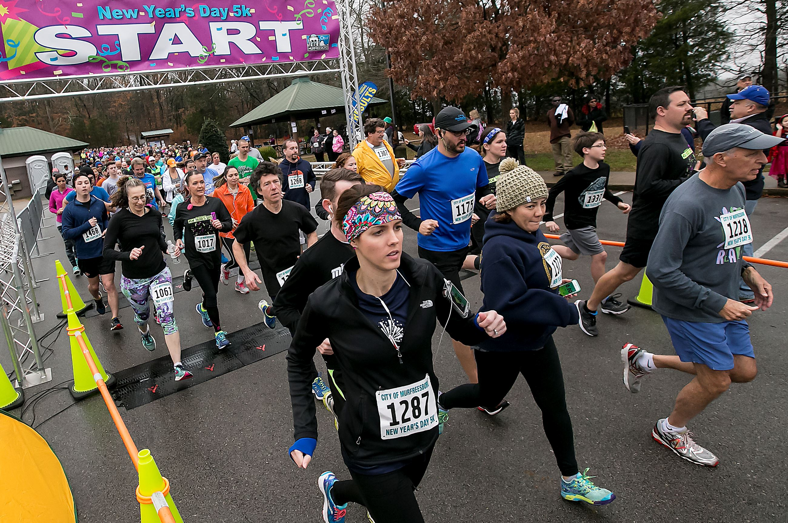 Photo of New Year's Day 5k