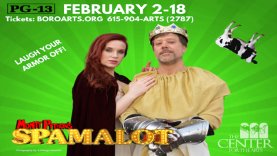 Photo of The Quest Begins Friday with Monty Python's Spamalot at Center for the Arts