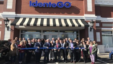 Photo of Ribbon Cutting for Idemia