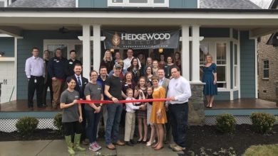 Photo of Hedgewood Builder's Model Home Ribbon Cutting