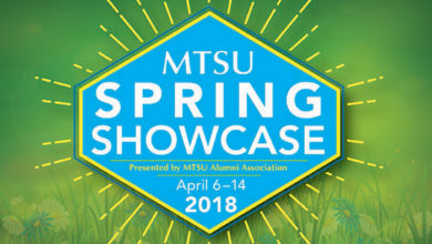 Photo of April 6-14 MTSU Alumni Spring Showcase features many classes, events
