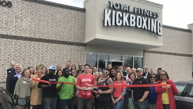 Ribbon Cutting for Total Fitness Kickboxing