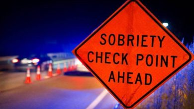 Photo of Memorial Day Weekend Sobriety Checkpoints