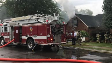 Photo of MFRD Responds to House Fire at 2727 Comer Drive
