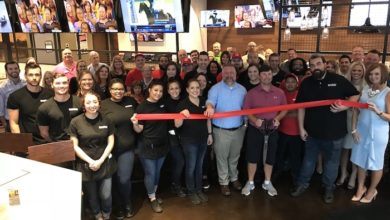 Photo of Ribbon Cutting for Boombozz Craft Pizza and Taphouse