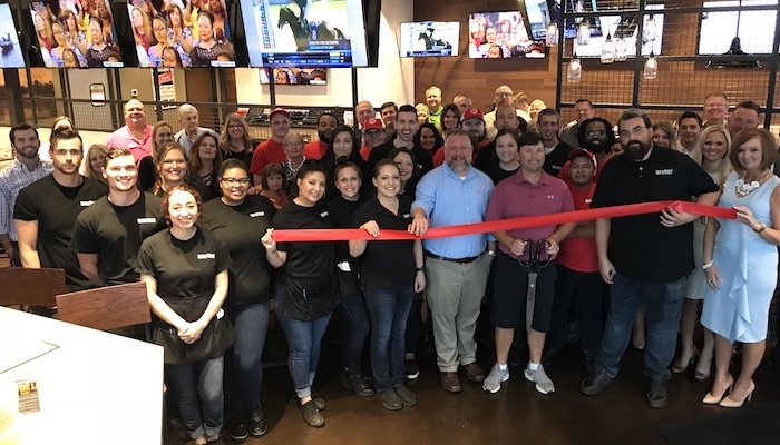 Ribbon Cutting for Boombozz Craft Pizza and Taphouse