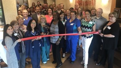 Photo of Ribbon Cutting for Fresenius Kidney Care