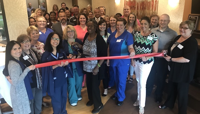 Ribbon Cutting for Fresenius Kidney Care