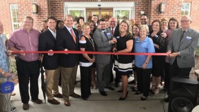Ribbon Cutting for The Crossings at Victory Station