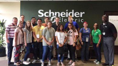 Schneider Electric students