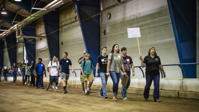 Photo of MTSU agriculture Raider Roundup tests high school FFA skills