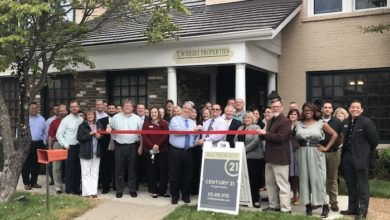 Photo of Ribbon Cutting for Century 21 Wright Realty