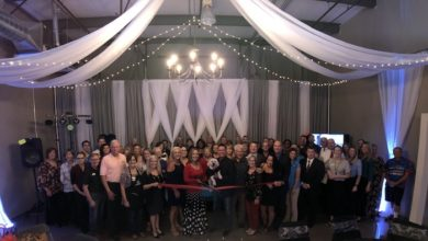 Photo of Ribbon Cutting for The Remington Room