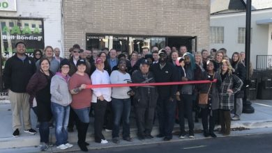 Photo of Ribbon Cutting for Boro Town Cakes Too