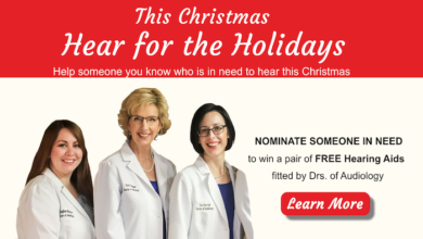 Photo of Hear for the Holidays – Hearing Aid Giveaway