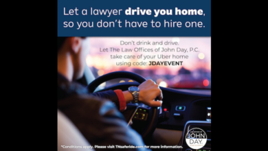 Photo of Law Offices Of John Day Provide Free Rides on NYE