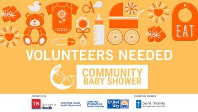 Photo of Volunteers Needed for Community Baby Shower