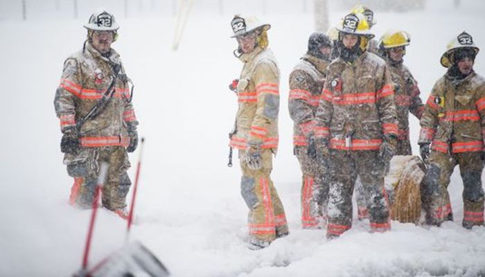 Cold weather fire deaths