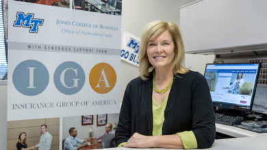 Photo of Insurance company IGA funds $100K sponsorship at MTSU