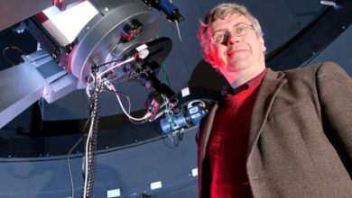 Photo of Wallin's Feb. 1 'Cosmic Chemistry' talk begins MTSU spring Star Party series