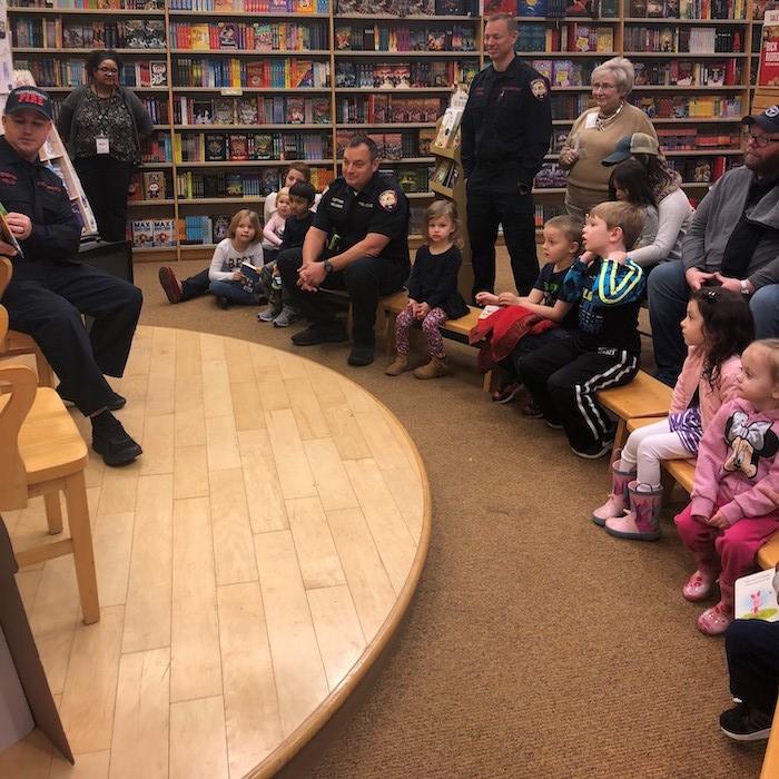 Kick-Off for Reading Buddies Program