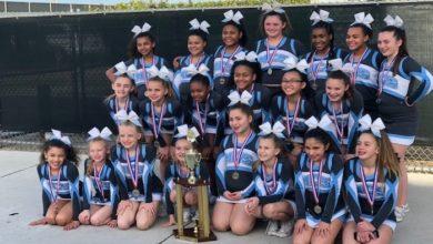 MCS Competition Cheer Junior Rec Team