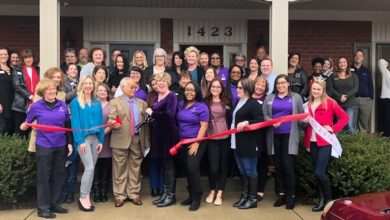 Photo of Ribbon Cutting for the Relocation of Domestic Violence and Sexual Assault Center