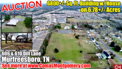 Auction at 606 & 610 Dill Lane