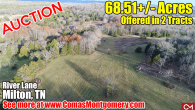 Photo of AUCTION: 68.51+/- Acres Offered in 2 Tracts – Beautiful Farm in Milton