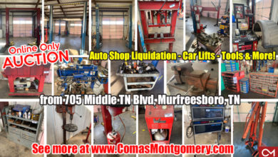 Automotive Shop Liquidation