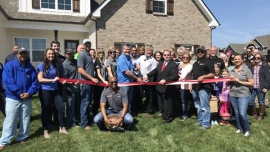 Ribbon Cutting for Michael's Homes - Brookside Community