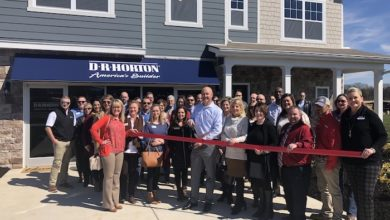 Ribbon cutting for Griffin Park Community