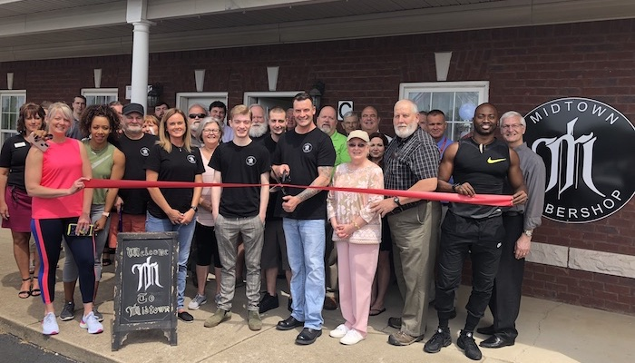 Ribbon Cutting for Midtown Barbershop