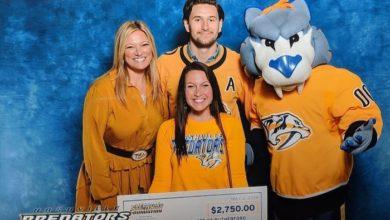 Photo of Nashville Predator's Foundation Awards $2,750 Grant to the Child Advocacy Center