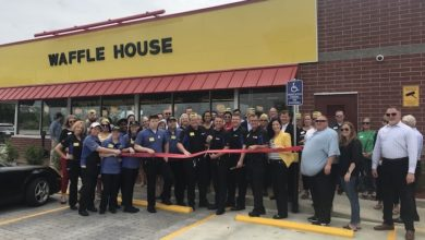 Photo of Ribbon Cutting for Waffle House