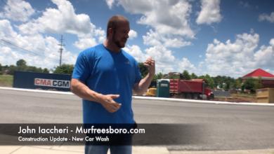 Photo of Murfreesboro Construction Update – New Car Wash
