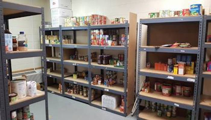 Salvation Army of Rutherford County food pantry