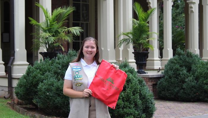 Oaklands Mansion Backpack Program