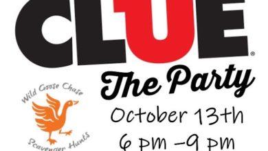 Clue Fundraiser at Oaklands Mansion