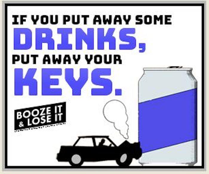 Booze It & Lose It on Labor Day Weekend